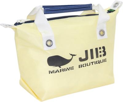 JIB ファスナートートS(オーバーファスナー)FTS68 シトラス×ネイビー