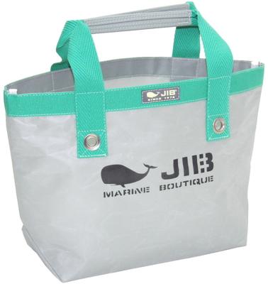 JIB オープントートS(ファスナー無しタイプ)TS63 グレー×グリーン