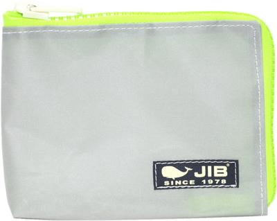 JIB マイクロクラッチラージS MCS22 グレー×蛍光グリーン×ダークネイビータグ