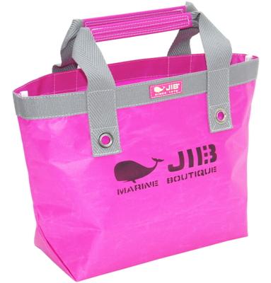 JIB オープントートS(ファスナー無しタイプ)TS63 ピンク×グレー
