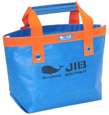 JIB オープントートS(ファスナー無しタイプ)TS63 ロケットブルー×オレンジ