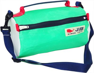 JIB セイルバッグ SS43 エメラルドグリーン×ネイビーファスナー/ネイビーショルダー