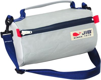 JIB セイルバッグ SS43 グレー×ネイビーファスナー/ネイビーショルダー