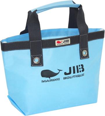 JIB オープントートS(ファスナー無しタイプ)TS63 ミオグレースシリーズ ミオブルー×チャコールグレー