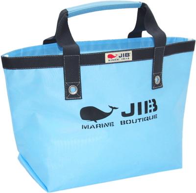 JIB オープントートM(ファスナー無しタイプ)TM73 ミオグレースシリーズ ミオブルー×チャコールグレー