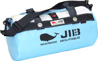 JIB ダッフルバッグS DS130 ミオグレースシリーズ ミオブルー×チャコールグレー