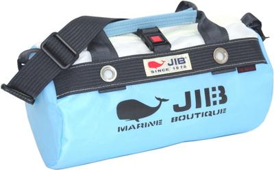 JIB ダッフルバッグSS DSS120 ミオグレースシリーズ ミオブルー×チャコールグレー