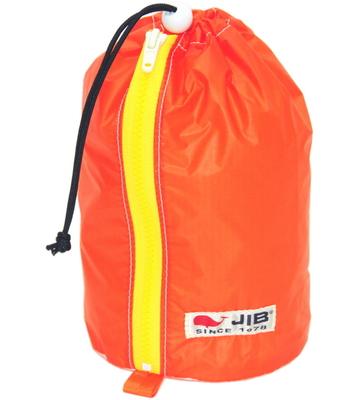 JIB プレスバッグS SC-PBS26 オレンジ×イエローファスナー