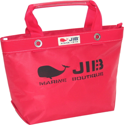 JIB オープンDトート インナージップ S TDFS88 レッド