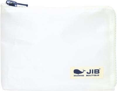 JIB マイクロクラッチラージM MCM28 ホワイト×ホワイト/ホワイトタグ