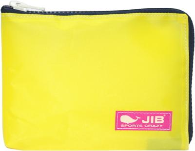 JIB マイクロクラッチラージM MCM28 イエロー×ダークネイビー/ピンクタグ