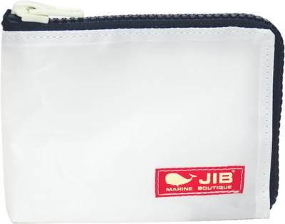 JIB マイクロクラッチラージS MCS22 ホワイト×ダークネイビー×レッドタグ