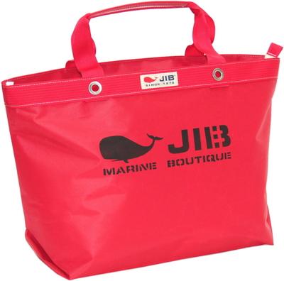 JIB オープンDトート インナージップM TDFM98 レッド