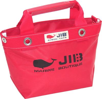 JIB オープンDトート インナージップ SS TDFSS63 レッド