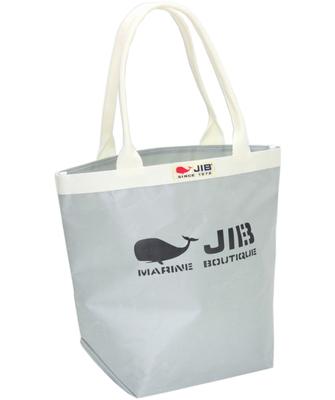 JIB バケツ BKM38 グレー/ホワイトハンドル