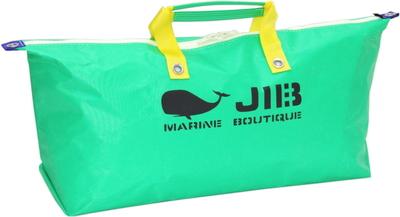 JIB テニスバッグ TN128 エメラルドグリーン×イエロー