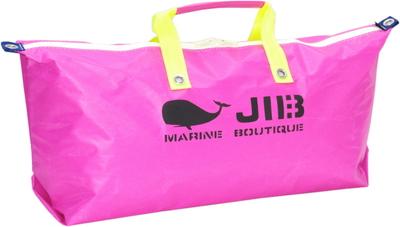 JIB テニスバッグ TN128 ピンク×蛍光イエロー