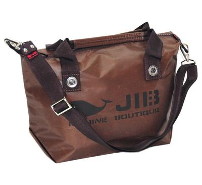 セット販売 JIB ファスナートートS+無地ショルダーベルト FTS68スペシャルブラウン+SB40MM27ブラウン