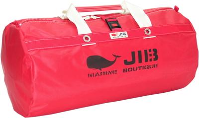 JIB ラージダッフルバッグ DLG210 レッド/アイボリーハンドル