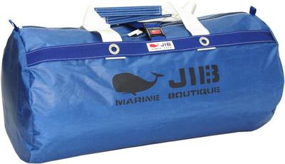 JIB ラージダッフルバッグ DLG210 ネイビー/アイボリーハンドル