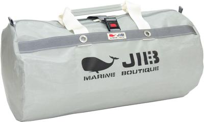 JIB ラージダッフルバッグ DLG210 グレー/アイボリーハンドル