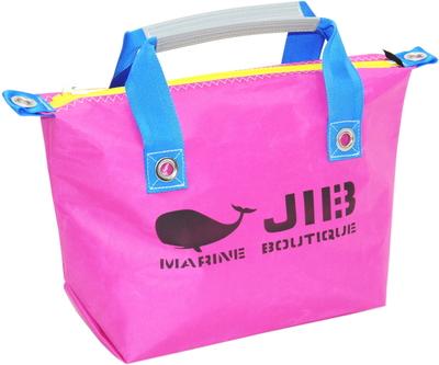 JIB ファスナートートS(オーバーファスナー)FTS68 ピンク×ブルー