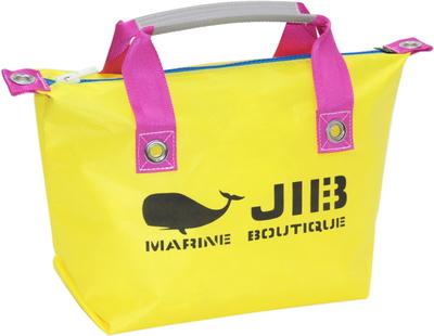 JIB ファスナートートS(オーバーファスナー)FTS68 イエロー×ピンク