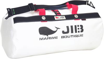 JIB ダッフルバッグM DM170 ホワイト×ダークネイビー