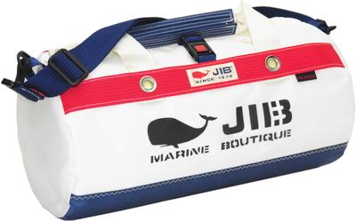 JIB ダッフルバッグSボーダー DSB160 ネイビー×レッド