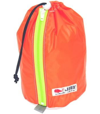 JIB プレスバッグS SC-PBS26 オレンジ×蛍光グリーンファスナー