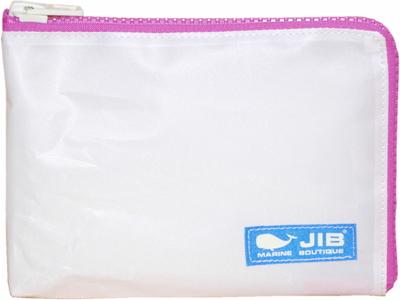 JIB マイクロクラッチラージM MCM28 ホワイト×ピンク/ブルータグ