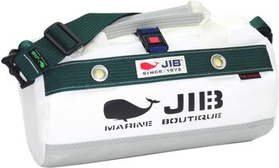 JIB ダッフルバッグSSボーダー DSSB146 グレー×モスグリーン