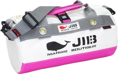 JIB ダッフルバッグSSボーダー DSSB146 ピンク×グレー