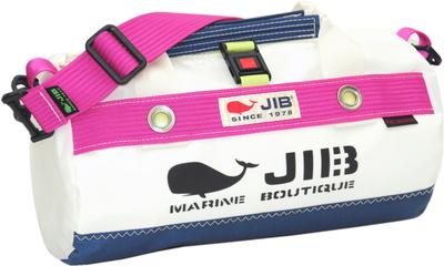 JIB ダッフルバッグSSボーダー DSSB146 ネイビー×ピンク