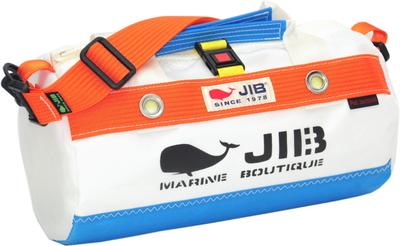 JIB ダッフルバッグSSボーダー DSSB146 ロケットブルー×オレンジ