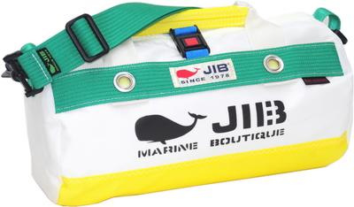 JIB ダッフルバッグSSボーダー DSSB146 イエロー×グリーン