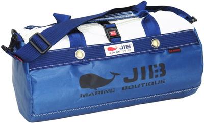 JIB ダッフルバッグSボーダー DSB160 ネイビー