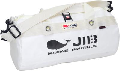 JIB ダッフルバッグSボーダー DSB160 ホワイト