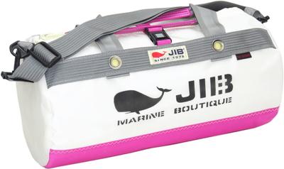 JIB ダッフルバッグSボーダー DSB160 ピンク×グレー