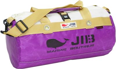 JIB ダッフルバッグSボーダー DSB160 スパークリングプラム