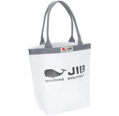 JIB バケツM BKM38 ホワイト/グレーハンドル