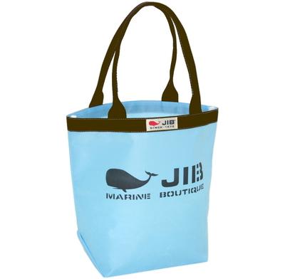 JIB バケツM BKM38 ミオブルー/ブラウンハンドル