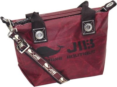 JIB セット販売 FTSS53+SB25MG28 ファスナートートSSココアブラウン+25mm幅ロゴショルダーベルト