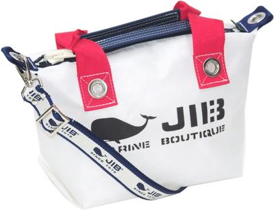 JIB セット販売 FTSS53+SB25MG28 ファスナートートSSヨッティングカラー+25mm幅ロゴショルダーベルト