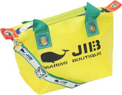 JIB セット販売 FTSS53+SB25MG28 ファスナートートSSイエロー×グリーン+25mm幅ロゴショルダーベルト