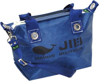 JIB セット販売 FTSS53+SB25MM20 ファスナートートSSネイビー+25mm幅無地ショルダーベルト