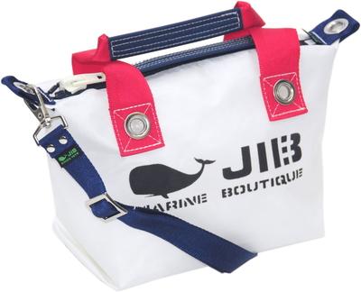 JIB セット販売 FTSS53+SB25MM20 ファスナートートSSヨッティングカラー+25mm幅無地ショルダーベルト