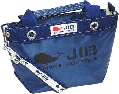 JIB セット販売 TDFSS63+SB25MG28 オープンDトートSSネイビー+25mm幅ロゴショルダーベルト
