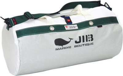 JIB ダッフルバッグM DM170 グレー×モスグリーン