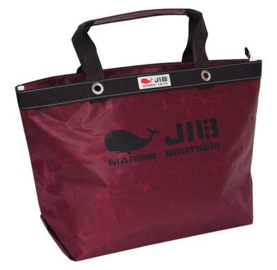 JIB オープンDトート インナージップM TDFM98 ココアブラウン